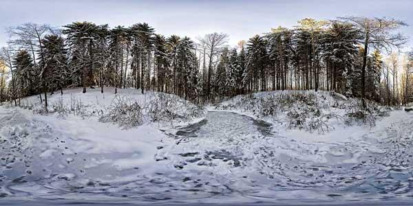 Erzgebirge-Winter